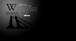 Wikipedia SOPA Blackout