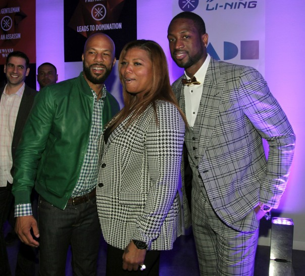 Dwyane_Wade-Queen_Latifah-Common