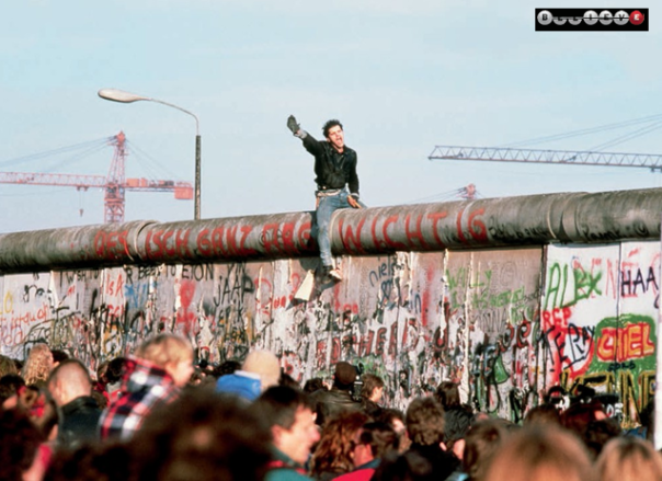 PHOTO CAPTION: The unbreakable Berlin Wall once divided an entire country - until both sides joined together and tore it down forever. Proof that anything is possible when you believe.