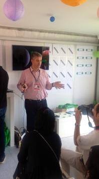 "Stephan Bruneau, Global Head of Analytics and Insights, MEC describes ""Momentum"" in MEC's Cabana No. 5"