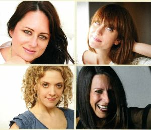 Clockwise from Top Left: Mandy Gilbert, Alessandra Lariu, Samantha DiGennaro, Jen Larkin Kuzler