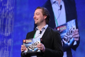 Peter Espersen, Head of Co-Creation, Content, and Campaigns, The LEGO Group (photo credit: Doug Goodman)